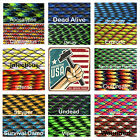Zombie Colors 550 Paracord Type III 7 strand 550 parachute cord 1 - 100 ft