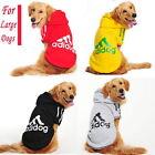 Big Large Pet Dogs Clothes Warm Hoodie Coat Jacket for Labrador Golden retriever