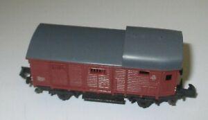 Arnold-4491-Wagon-de-Marchandises-Pwg-2-achs-Braun-gt-Top