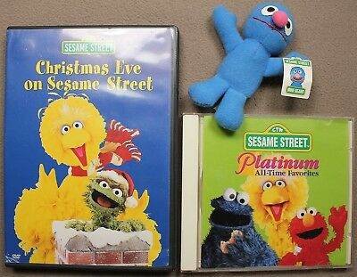 Christmas Eve On Sesame Street.Christmas Eve On Sesame Street Dvd Platinum All Time Favorites Cd Grover Mini Ebay