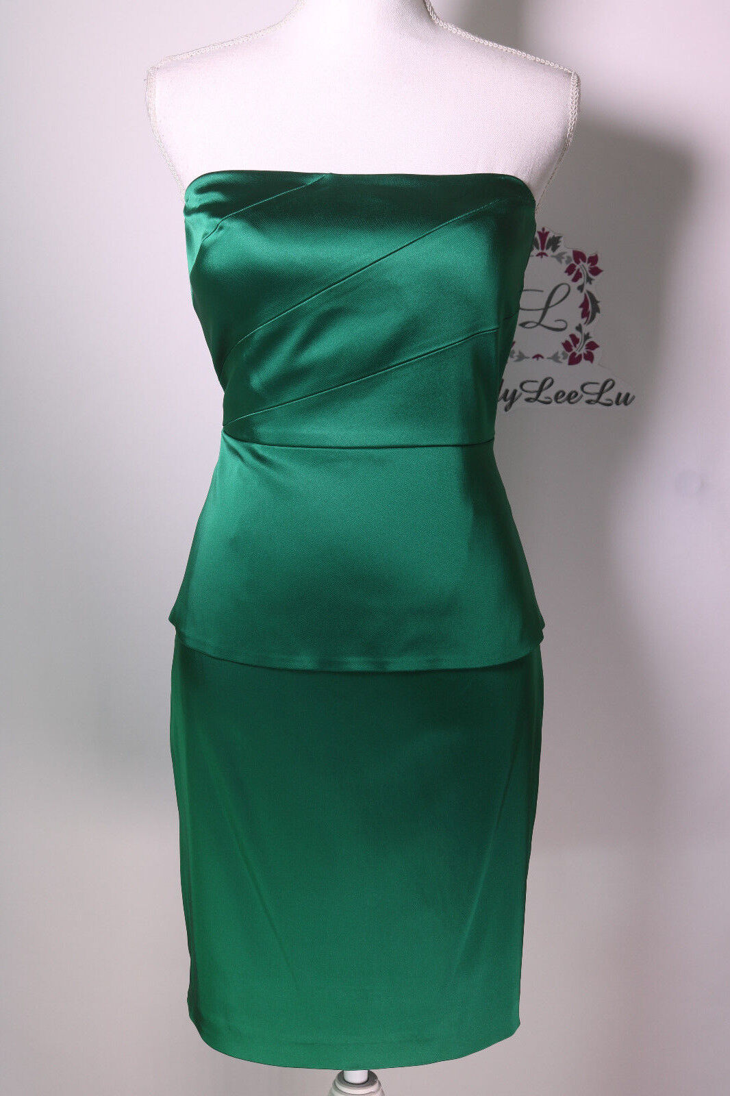 3cc2e66ac4b Gianni Bini Vanessa Strapless Western Dress Pine Size 0 4 6 New NWT ...