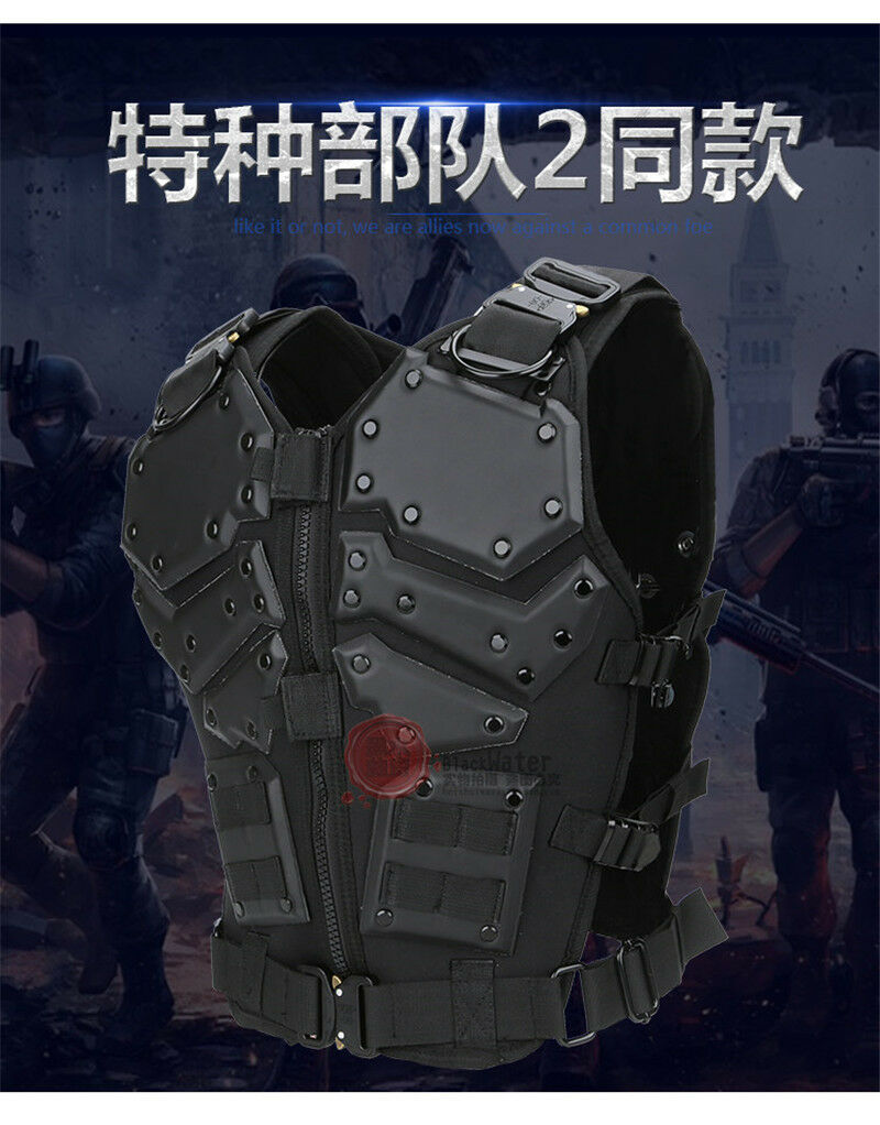 Predective Combat Vest Special Forces Molle Army Military Game TF3 Tactical Vest