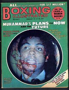 BOXING-ILLUSTRATED-MAGAZINE-FEBRUARY-1975-MUHAMMAD-ALI