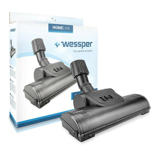 Wessper Turbo Boquilla para suelos para Clatronic Philips Panasonic con ruedas