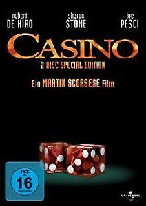 Casino-Special-Edition-2-DVDs-von-Martin-Scorsese-DVD-Zustand-akzeptabel