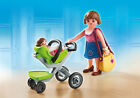 PLAYMOBIL 5491 City Life 16 Puzzle Pcs Shopping Centre Mother Infant Stroller