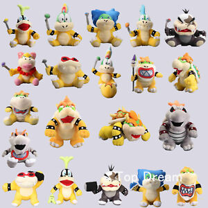 Super-Mario-Series-Character-Browser-JR-Koopa-Plush-Soft-Toy-Stuffed-Animal-Doll