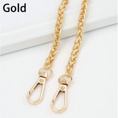 Metal Chain Strap Handle Shoulder Crossbody Bag Handbag Replacement 100-120.