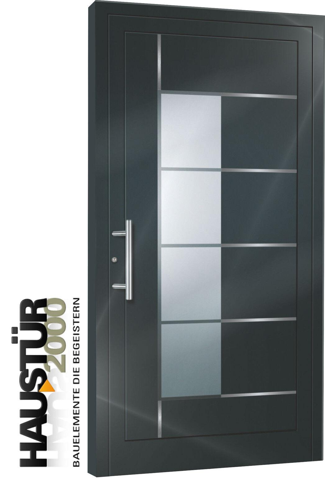 Aluminium Haustür Alu Haustüren nach Maß Mod. HT 5332 - 726  GA nach Maß