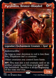 Purphoros-Bronze-Blooded-Foil-Showcase-x1-Magic-the-Gathering-1x-Theros-Bey