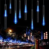 Meteor Shower Falling Star Rain Drop/icicle Snow Led String Light Xmas Tree