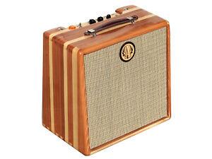 "Ashen ""Goldy"" 12"" 8 Watts Handmade tube guitar combo with tube spring reverb"