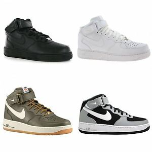 dfea234a148 Image is loading Nike-Air-Force-1-Mid-07-Leather-Mens-