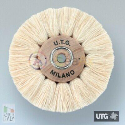 Brush Circular Cotton White Yarn Extra Soft ø 100 MM UTG Polishing