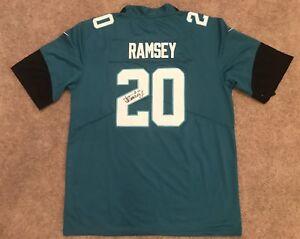 pretty nice 11e1d 291d9 Details about Jalen Ramsey Signed Jacksonville Jaguars Jersey (COA) ALL PRO  FSU