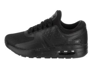 Details zu Nike Air Max Zero Essential Gr. 33 Sneaker Kinder schuhe Schwarz GR004