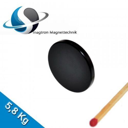 Epoxy Schwarz 5 NEODYM MAGNETE Ø25x3 mm NdFeB N45 Scheibenmagnete