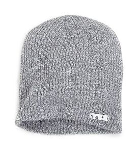 aa1dccfc13018 neff Men s Daily Beanie Grey One Size Free Shipping 846490021220