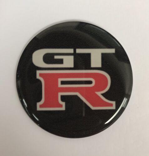 50mm X1 GTR GT Clásico Retro semicirculares De Resina Personalizado De Rueda De Pegatinas Insignia Reino Unido