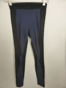 WITCHERY-black-blue-fitted-Jodphur-Legging-style-tailored-dress-pants-6-8