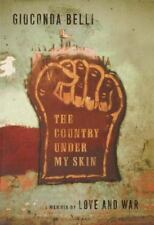 Gioconda Belli~THE COUNTRY UNDER MY SKIN~SIGNED~1ST/DJ~A NICE COPY