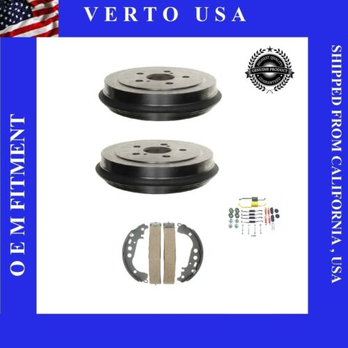Brake Shoe Drum /& Hardware Rear Kit Set for 2003-2004 to 2008 Toyota Corolla
