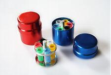2pcs Dental Endo Organizer Container 6 Paper Gutta Percha Aluminum Endodontic