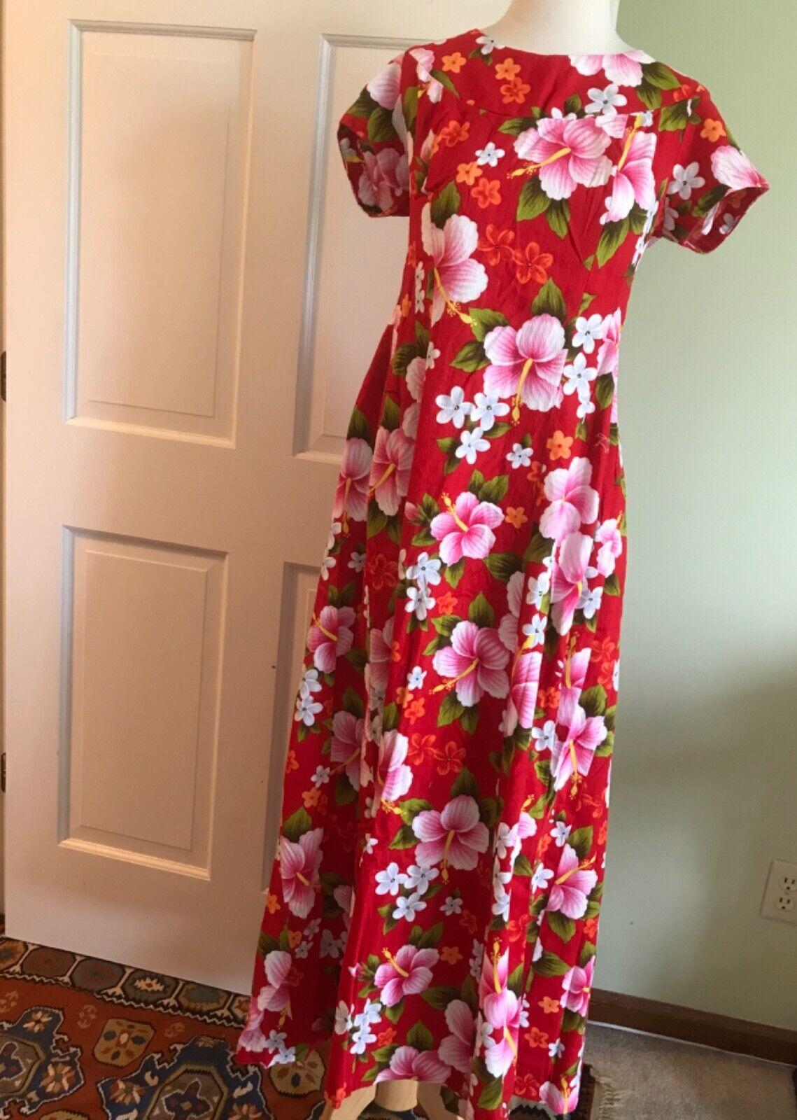 Dress vintage hawaiian Lavahut