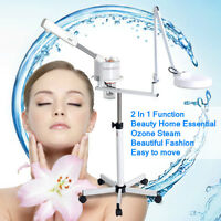 Specials 2in1 Facial Steamer Magnifying Lamp Magnifier Fluorescent Light O3