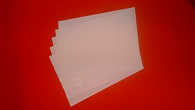 100 Double Sided A4 Adhesive Tape sheets very sticky