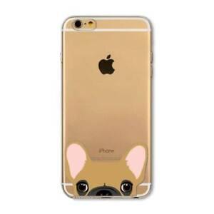 COQUE iPHONE 5 5S SE LE CHIEN BANSENJI SILICONE SOUPLE (TPU)