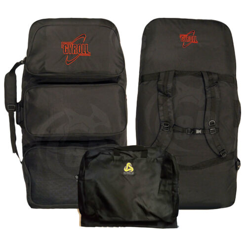 Mike Stewart Gyroll Tri-Pouch Triple Board Bag  with Changing Mat
