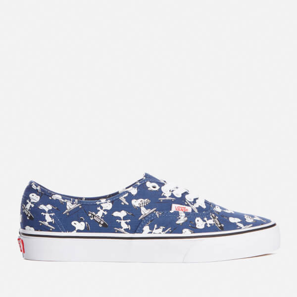 Vans x PEANUTS Snoopy Skating schuhe NEW Authentic Blau SKATEBOARD Free Shipping