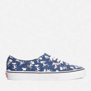 d93739439d Vans x PEANUTS Snoopy Skating Shoes  NEW Authentic Blue SKATEBOARD ...