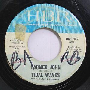 Details about Hear! Garage Detroit 45 Tidal Waves - Farmer John / She Left  Me All Alone On Hbr