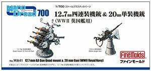 Fino-Molde-WA41-12-7mm-Aa-Pistola-Cuadruple-Montaje-amp-20mm-Royal-Navy-1-700