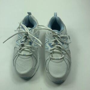 Blue Training Shoes Sz 8