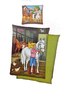 Pferdestall Bibi /& Tina Renforcé-Bettwäsche 135 x 200 cm