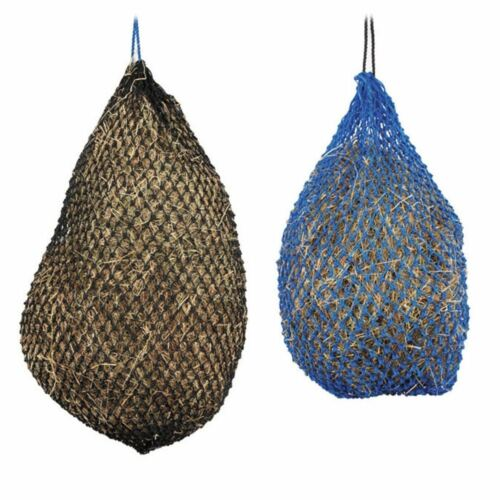 """Small or Large 1037 Shires Greedy Feeder Haynet Haylage Net 1/"""" holes"""