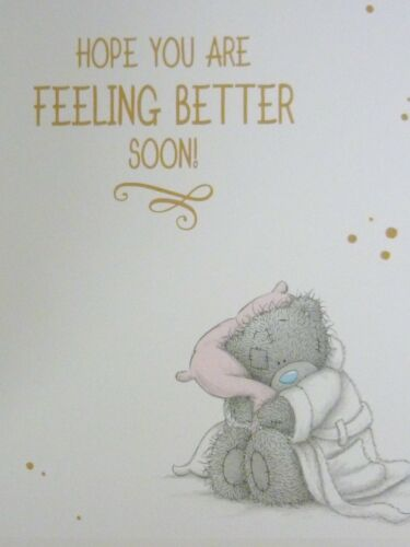 Small Tatty Teddy Me to You Greeting Card GET WELL SOON