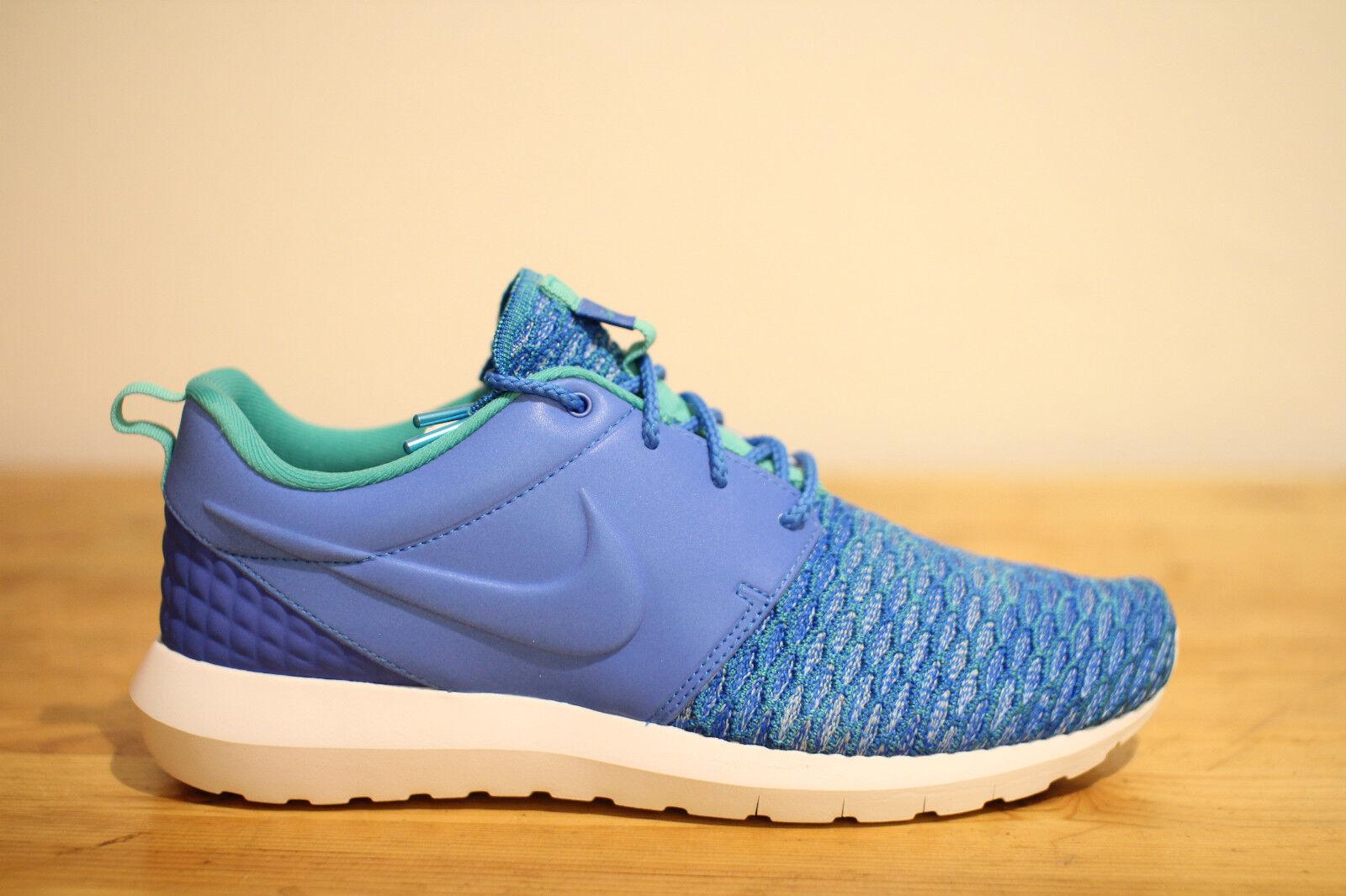Nike Roshe run Flyknit Blau Gr. 42,43,44,45 NEU & OVP
