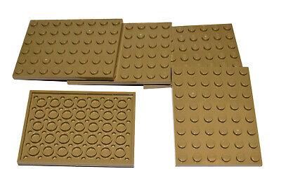 LEGO Large Plates Octagonal DARK STONE GREY # 10x10 # pack of 5 # flat