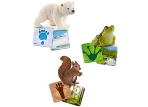 Schleich 42474-Wild Life-Flash grenouille ours polaire écureuil