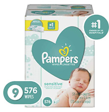 Pampers Sensitive 9x Baby Wipes