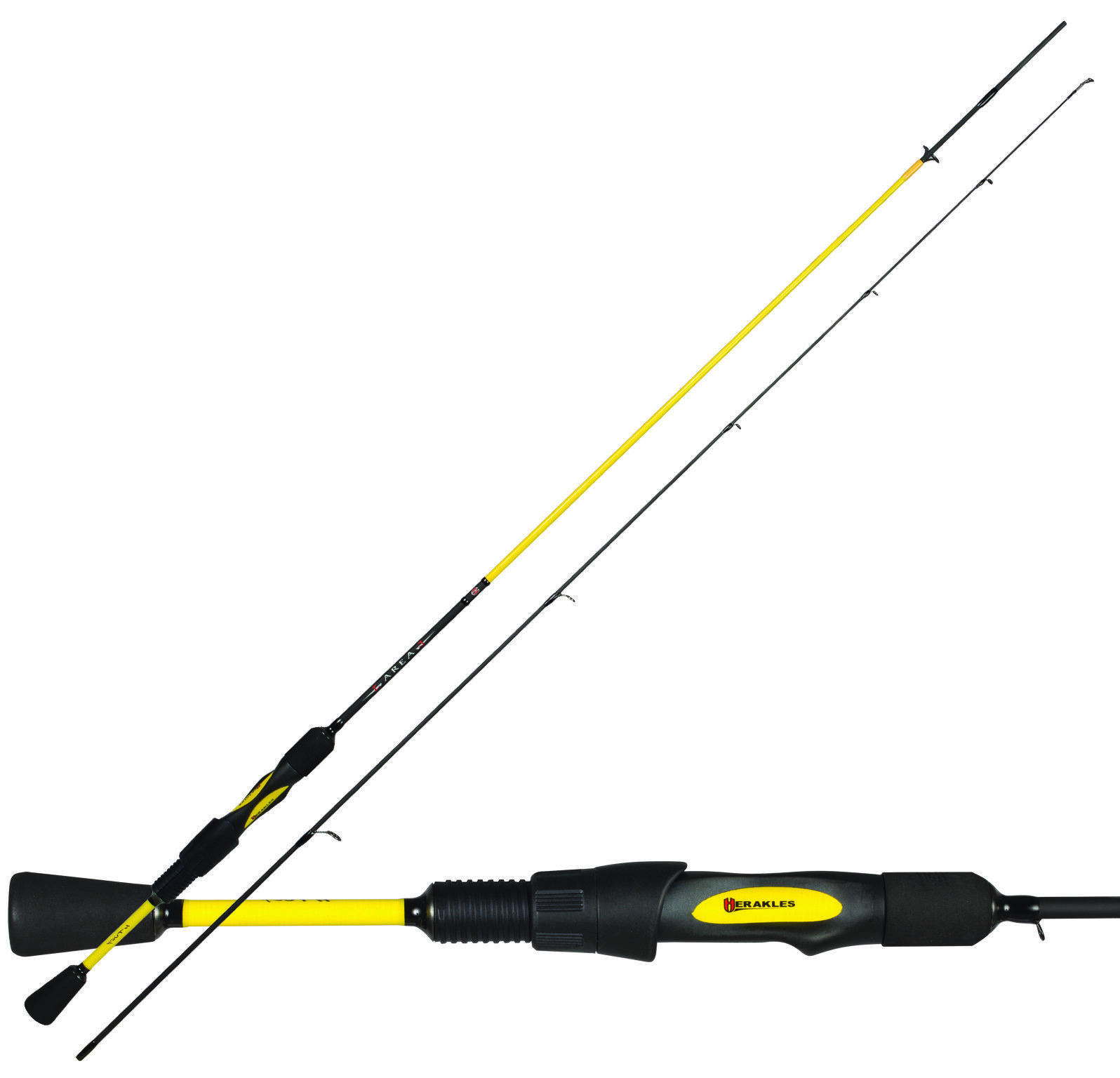 Herakles canna pesca area spinning Youth J carbonio alto modulo japan RNG