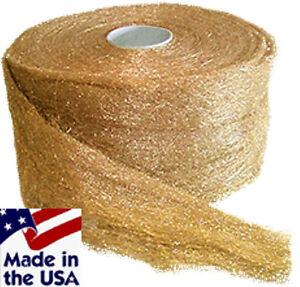 Brass Wool Roll 5 LB - Grade Fine