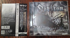 Sabaton ‎– World War Live Battle Of The Baltic Sea  japan (signed CD)