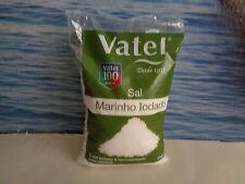 1kg  35.2 oz Unrefined NATURAL SEA SALT Culinary Iodized coarse Portugal