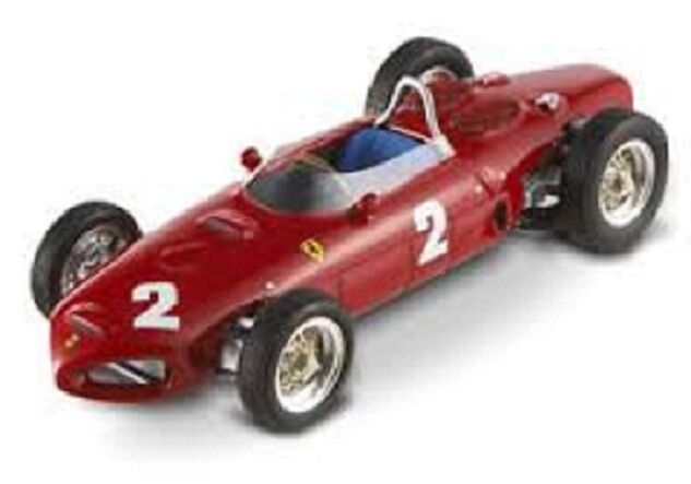 HOT WHEELS ELITE T6278 - FERRARI 156 F1 P. HILL ITALY GP 1961 1/43