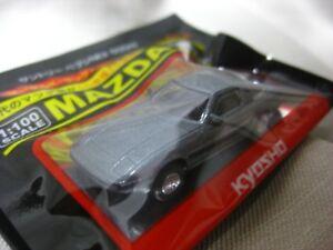 1//100 Kyosho MAZDA SAVANNA RX-7 SA22C Dark Grey Diecast Car Model Model NEW